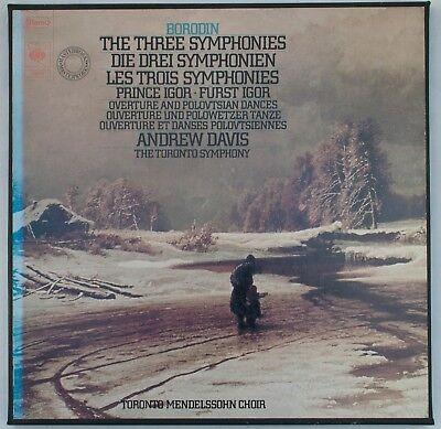 Borodin, The Three Symphonies, Andrew Davis [CBS 79214]