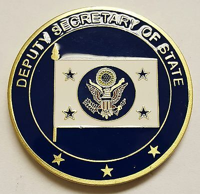 United States Department Of State Deputy Secretary Of State Coin 1 75