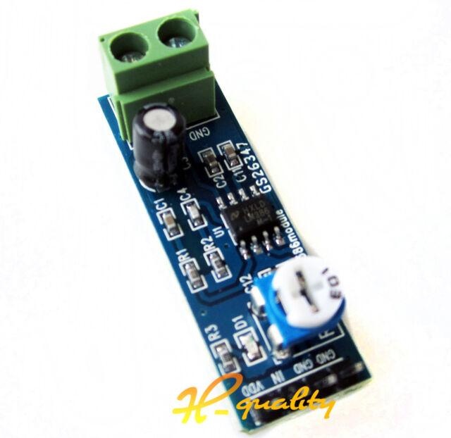 2PCS LM386 Audio Amplifier 200 Times Input 10K Adjustable Resistance 5-12V