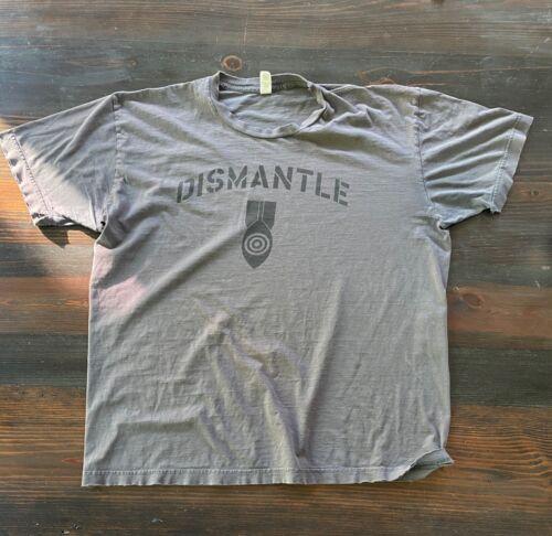 Vintage 2005 U2 -DISMANTLE atomic bomb Vertigo Concert Tour T-Shirt XL Original