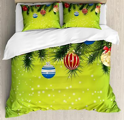 Christmas Duvet Cover Set Twin Queen King Sizes with Pillow