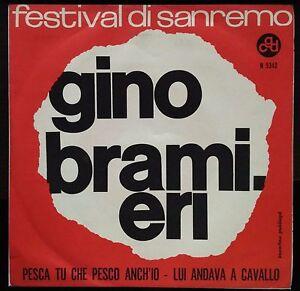 Gino Bramieri – Pesca Tu Che Pesco Anch'io 45 giri 1962 NM/NM Sanremo - Italia - L'oggetto può essere restituito - Italia