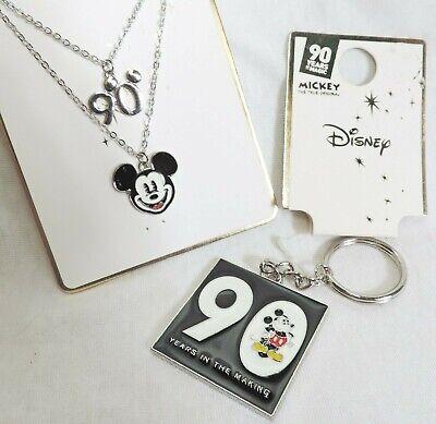 Schlüsselanhänger + Kette * 90 Jahre MICKEY MOUSE * Modeschmuck DISNEY Jubiläum (Disney Mickey Schlüsselanhänger)