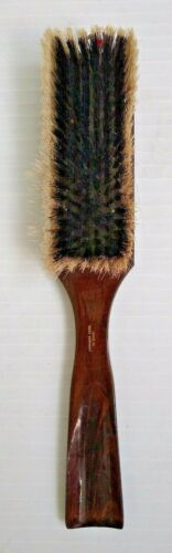 Vintage Clothes Lint Brush Double Sided With Shoe Horn Wooden West Germany