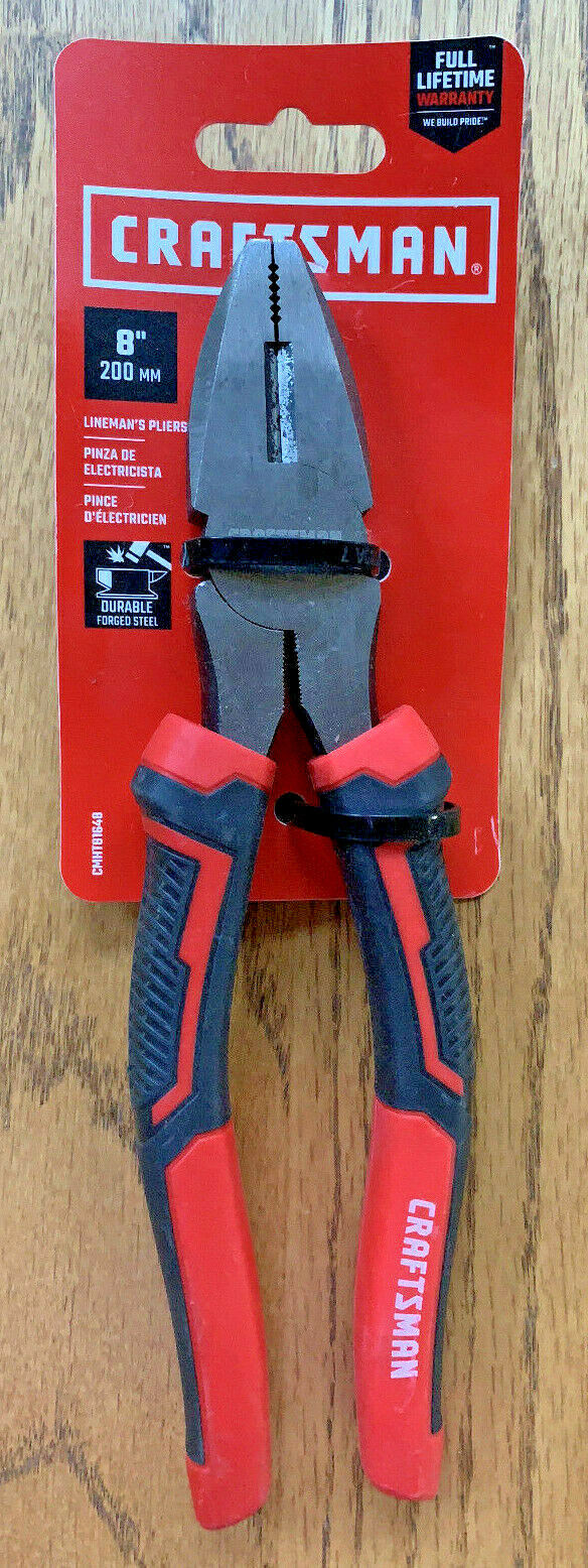 Brand New - Craftsman 8 Inch Linesman Pliers  CMHT81648