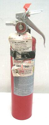 A417 Amerex 2.5lb Abc Dry Chemical Class A B C Fire Extinguisherw Mount Brack