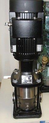 Grundfos Model A96640647p20842 Type Cri15-02 A-x-i-v-hqqv Vertical Stage Pump