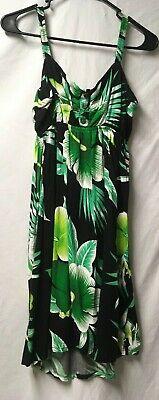 Beach Dress 1 Size By Aloha Fashion Hawaiian Tropical Elastic Aloha Beach Dress
