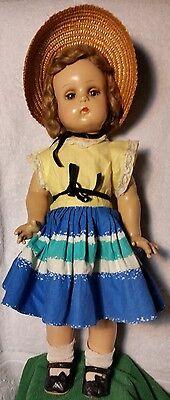"18"" Madame Alexander Jeannie Walker Doll w/Box  1941 in Beautiful Condition"