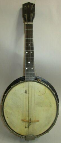 Stromberg Voisenet Banjo Ukulele Banjolele 1920s resonator MOP banjo-uke