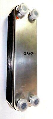 Lytron Ll820g14 Nickel Brazed Plate Heat Exchanger Liquid-to-liquid 34 Mnpt