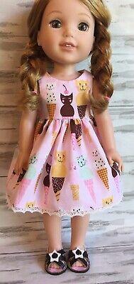 Cat Cones Dress fits 14.5