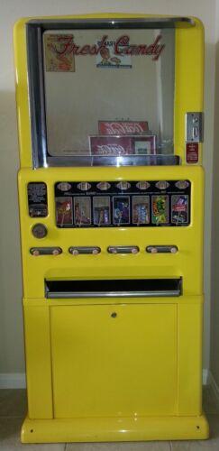 1950s Vintage Stoner Candy Machine - Powder Coated Yellow