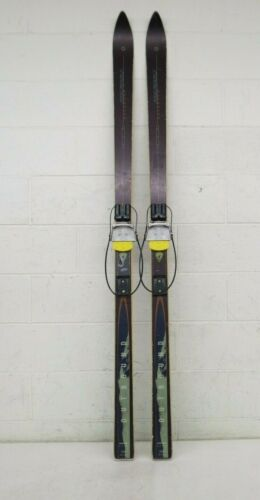 Karhu Outbound 180cm Telemark Skis w/Rainey Designs Nordic Norm Cable Bindings