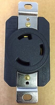 Premium Heavy Duty L5-30r 3 Prong Twist Lock Locking Receptacle Device 30a 125v