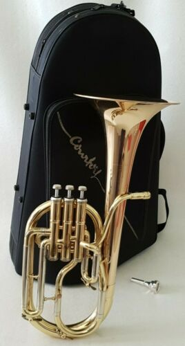 Tenor Horn Antoine Courtois 180R with Courtois Mouthpiece & Soft Deluxe Case