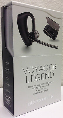 Plantronics Voyager Legend Bluetooth Headset   Charge Case With Internal Battery