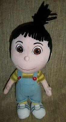 Despicable Me Overalls (Despicable Me Universal Studio Agnes Plush Doll Minions Little Girl Overalls)