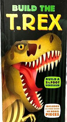 Build the T. Rex by Dr Darren Naish Mixed Media Product  (T-rex Merchandise)