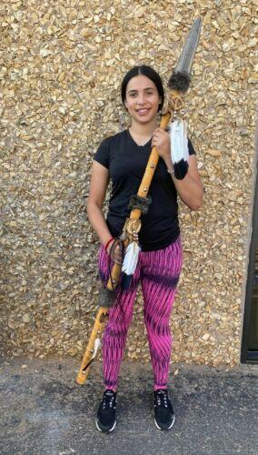 Handmade spear ,BUFFALO HUNT SPEAR ,SOUTHWEST HOME DECORATION, Crafts , TAN
