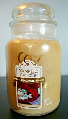 New Yankee Santa's Cookies 22 Oz Large Jar Candle Magical Christmas Morning