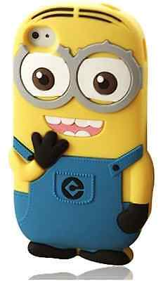 MINION Soft Skin Case Protector Case Cover for iPod touch 5 5th 6 6th Gen