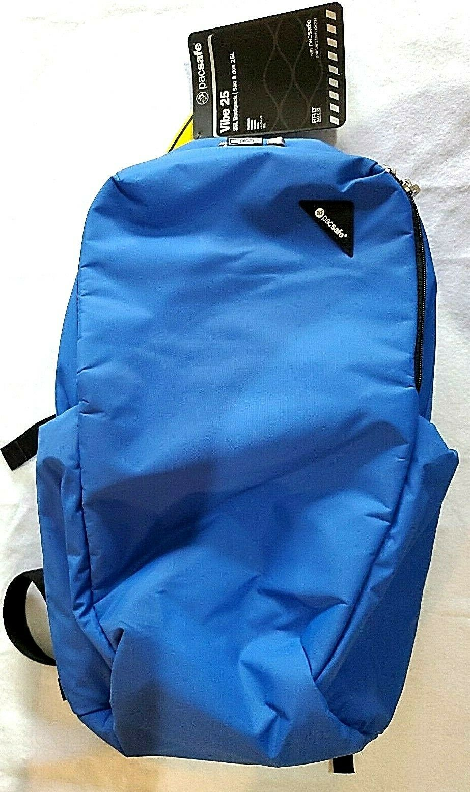 New Pacsafe Vibe 25 Anti-theft 25L Backpack Blue Eclipse
