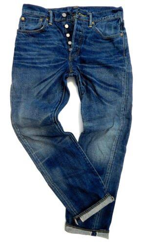 LEVIS 501XX SELVEDGE MENS fits-W30 L32 REDLINE VINTAGE STYLE DENIM BLUE JEANS