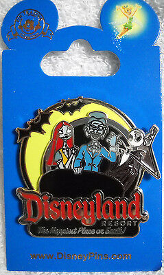 Jack and Sally on The Haunted Mansion Disney Pin