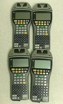 Lot Of 4 Psion Workabout Mx Handheld Scanner Computer W Batteries - Working