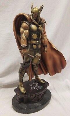 Lee Büste (Bowen Signiert von Stan Lee Thor Statue Künstlich Bronze Museum Avers Büste Hulk)