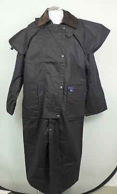 Blue Heeler 34273 Riding Coat Wachsjacke Outdoor Mantel Herren Gr. M Braun