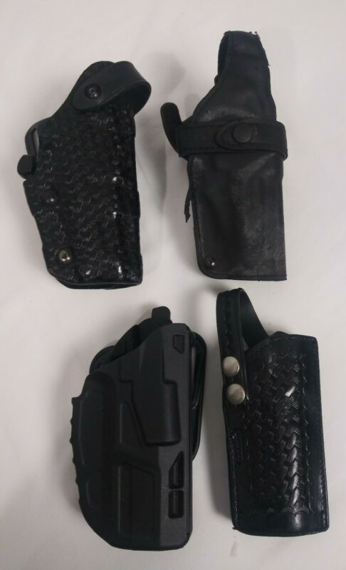Lot Of 4 Safariland Holsters