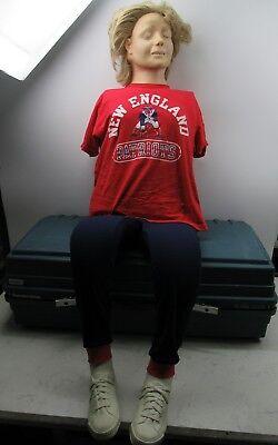 Laerdal Resusci Anne Full Body Cpr Manikin W Case Emt Trainer Nursing Student