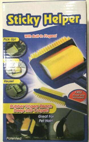 Sticky Helper/Buddy Reusable Sticky Picker Roller Pet Hair Roller
