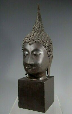 Statues Buddha Antique Sukhothai