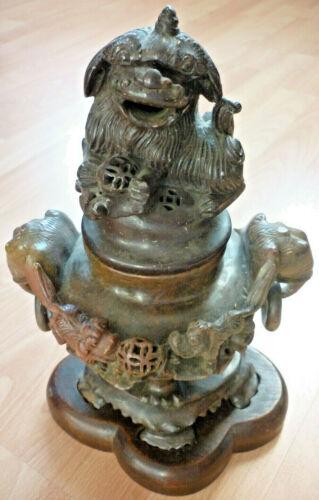 Censer, Asian, Stone, Soapstone Antique (Art.5274)