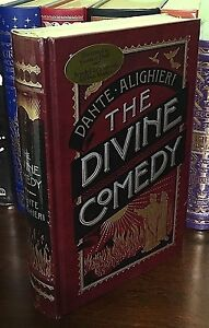 THE DIVINE COMEDY by DANTE Illustrated GUSTAVE DORE Leatherbound & BRAND NEW!