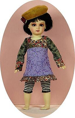 "BJD outfit patterns for 29cm Bluette Charmette, adjust for 10"" Goodreau/Creedy"