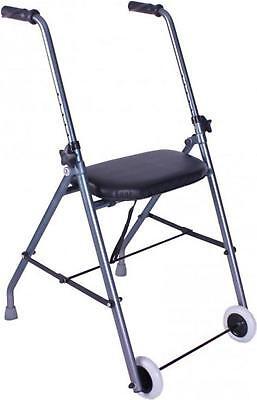 Andador de aluminio muy ligero, plegable y de fácil uso para adultos...