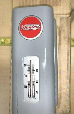 Dayton Heavy Duty Line Voltage Room Thermostat 2e369 - 120 To 240vac