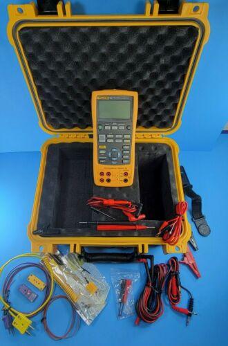 Fluke 726 Precision Multifunction Process Calibrator, Excellent, Case, More