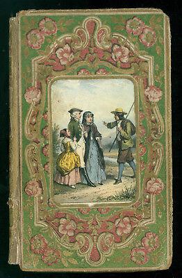 DE MARLES M. ANNA OU LA PIETE FILIALE MAME 1855 LEGATURA ROMANTICA LETTERATURA