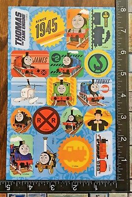 THOMAS AND FRIENDS, ONE SHEET OF BEAUTIFUL STICKERS #TRENES7