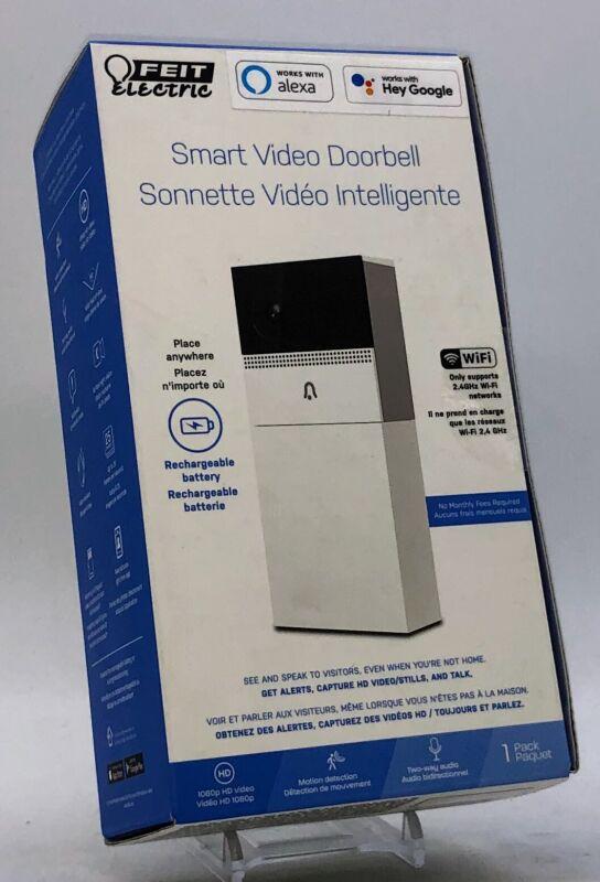 Feit Electric CAM/DOOR/WIFI/BAT Cam Doorbell - 017801722246