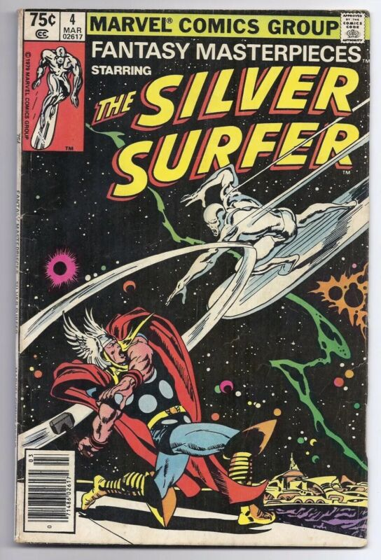 Vintage Marvel Fantasy Masterpieces #4 Silver Surfer Vs. Thor Classic Cover Rare