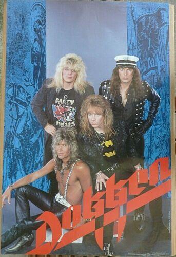 RARE DOKKEN 1987 VINTAGE ORIGINAL MUSIC POSTER