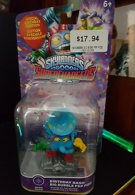 Skylanders Superchargers Birthday Bash Big Bubble PS4/XBOX 1/PS3/360/WII/3DS B1 ()