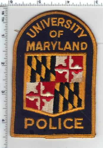 University of Maryland Police (Maryland) Shoulder Patch - from the Late 1970