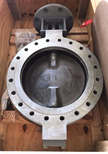 "New Pratt 20"" Butterfly Valve, W/ Bonnet, N2fii, N2f2, Heavy Duty, Flange/bolt"